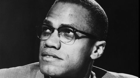 African-American Muslim minister and civil rights activist Malcolm X (1925 - 1965) appearing on a round table discussion edition of the PBS (Public Broadcasting Service) programme 'Open Mind', entitled 'Race Relations In Crisis', 12th June 1963. (Photo by Pictorial Parade/Archive Photos/Getty Images)