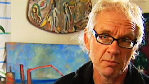 Lars Vilks says his controversial cartoon was calculated to elicit a reaction.