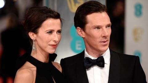 """We knew actor Benedict Cumberbatch was engaged to theater director Sophie Hunter, but their Valentine's Day wedding sneaked up on us with little fanfare. The couple wed in a small ceremony on the Isle of Wight """"surrounded by their close friends and family,"""" Cumberbatch's publicist, Karon Maskill, said. """"It was a magical day."""""""
