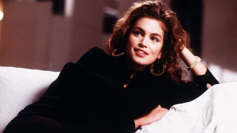 Crawford, here in 1989, was one of the top supermodels of the 1990s.