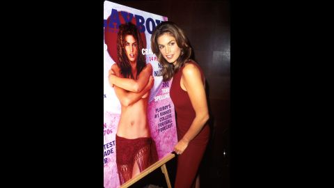 Crawford posed for Playboy in 1998.