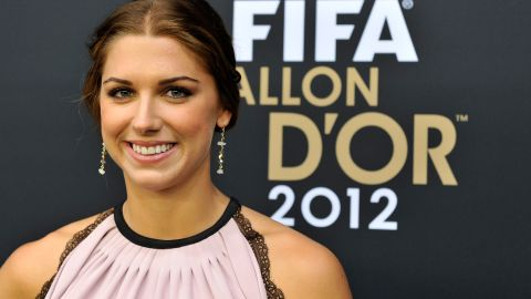 After a year to remember, Morgan finished third in the FIFA World Player of the Year award in 2012.