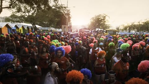 Carnival J'ouvert in Trindad and Tobago, Feb. 16, 2015