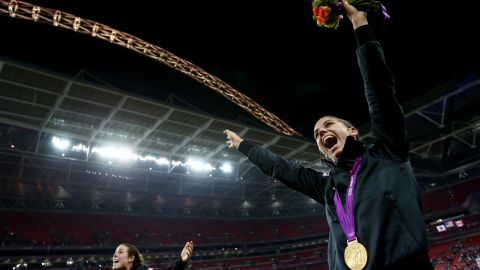 One of the highlights of Morgan's career came at the London 2012 Olympic Games. The USWNT took the gold medal after defeating Japan 2-1 in the final at London's Wembley Stadium.