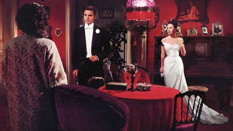 """<strong>""""Gigi"""" (1959):</strong> For one of its last great musicals, MGM turned to Alan Jay Lerner and Frederick Loewe after their success with """"My Fair Lady"""" to create a musical based on Colette's """"Gigi."""" The Vincente Minnelli film with Louis Jourdan, center, and Leslie Caron, right, won every Oscar it was nominated for (nine), including best picture and director. Legendary French star Maurice Chevalier had a memorable song with """"Thank Heaven for Little Girls."""""""