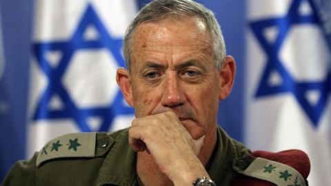 Benny Gantz has formed his own centrist party called Israel Resilience. (File photo)