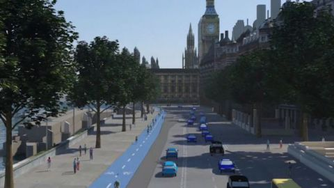 London is now counting on the bicycle as a true transport solution. The city's mayor Boris Johnson has pushed through a proposal for a 24km segregated bike path that will connect the east and the west of the city by 2016.