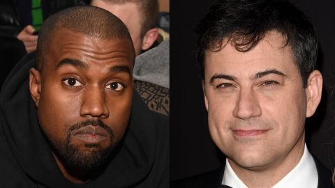 """Kanye West gave Jimmy Kimmel the rap feud he's always wanted. After <a href=""""http://www.youtube.com/watch?v=It05EvqFD6s&feature=c4-overview&list=UUa6vGFO9ty8v5KZJXQxdhaw"""" target=""""_blank"""" target=""""_blank"""">Kimmel poked fun at West's 2013 interview</a> with the BBC -- in which the entertainer called himself the No. 1 rock star on the planet -- <a href=""""https://twitter.com/kanyewest/with_replies"""" target=""""_blank"""" target=""""_blank"""">West went to Twitter to air his profane grievances</a> (in all caps, of course). The two later made amends with a televised sit-down."""