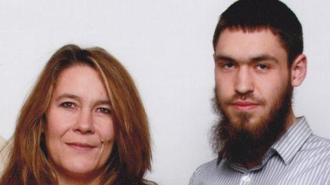 Family photo of Damian Clairmont