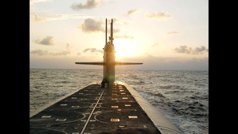 """In 2014, Navy criminal investigators started looking into who <a href=""""http://www.cnn.com/2014/12/04/politics/navy-submarine-investigation/index.html"""" target=""""_blank"""">secretly filmed female officers of the USS Wyoming</a> while they were showering and changing clothes aboard the submarine's unisex bathrooms."""