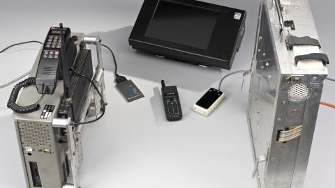 Stephen Hawking's first voice synthesizer. Now on display in London's Science Museum.