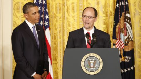 Tom Perez with President Barack Obama