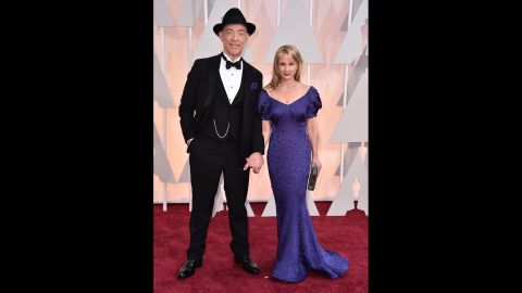 J.K. Simmons and his wife, Michelle Schumacher