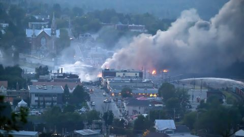 The derailment in Lac Mégantic, Quebec, was among the most disastrous in modern North America. Forty-seven people died, some 40 buildings were destroyed and 53 vehicles were demolished when the 63 tank cars and two boxcars derailed and erupted in flames in July 2013.