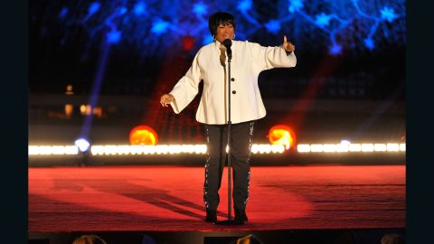 """Legendary soul singer Patti LaBelle, who was partnered with pro dancer Artem Chigvintsev, will always be a winner in the music world. She performed her hit song """"2 Steps Away"""" on the finale."""