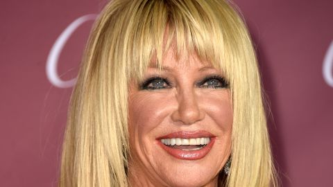 """Actress Suzanne Somers, known for her role on """"Three's Company,"""" her books and her product sales, was also sent home."""