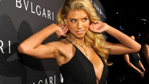 """Model Charlotte McKinney, 21, has already wowed the Internet (the girl-crazed section anyway)  with her Super Bowl """"au naturel"""" Carl's Jr. advertisement. She's also modeled for Guess."""