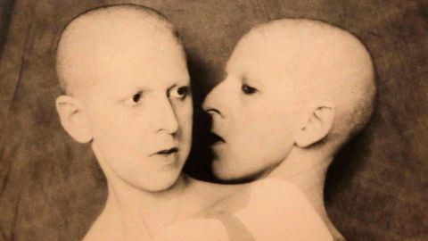 """French surrealist photographer <a href=""""http://www.jerseyheritage.org/media/Find%20a%20place%20to%20visit/Cahun.pdf"""" target=""""_blank"""" target=""""_blank"""">Claude Cahun</a> (1894-1954) was known to turn the camera on herself to create enigmatic, gender-bending images with the help of props, costumes and experimental camera work. The app features the location of her former home on the Channel Island of Jersey, where she lived with her partner, avant-garde artist Marcel Moore."""