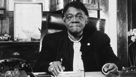 """American educator and civil rights activist <a href=""""https://ncnw.org/about/bethune.htm"""" target=""""_blank"""" target=""""_blank"""">Mary McLeod Bethune's </a>(1875-1955) legacy lives on at <a href=""""http://www.cookman.edu/"""" target=""""_blank"""" target=""""_blank"""">Bethune-Cookman College</a> in Daytona, Florida, which she founded in 1904 as the Daytona Educational and Industrial Training School for Negro Girls. The location is featured in Field Trip with her story."""