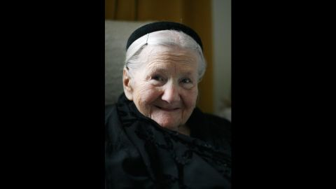 """<a href=""""http://www.irenasendler.org/about-the-project/"""" target=""""_blank"""" target=""""_blank"""">Irena Sendler</a> (1910-2008) was a young social worker in 1939 when the Nazis invaded Warsaw, Poland. She worked, along with other women, to smuggle Jewish babies and children out of the Warsaw Ghetto to safety. The group saved more than 2,000 children. The site of the Warsaw Ghetto border marker appears on the app in honor of Sendler."""