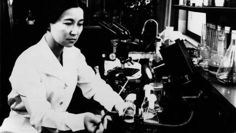 """<a href=""""http://siarchives.si.edu/collections/siris_arc_297429"""" target=""""_blank"""" target=""""_blank"""">Ruby Hirose</a> (1904-60) was one of 10 women recognized by the American Chemical Society for accomplishments in chemistry in 1940. A biochemist and bacteriologist, she researched antitoxins and serums. Hirose also helped develop vaccines against infantile paralysis, according to the Smithsonian. The University of Cincinnati, where she earned her doctorate, appears on the app."""