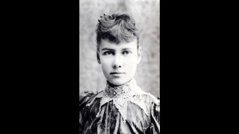 """<a href=""""http://www.pbs.org/wgbh/amex/world/peopleevents/pande01.html"""" target=""""_blank"""" target=""""_blank"""">Nellie Bly</a> (1864-1922) was a journalist for the New York World when she went undercover for 10 days at the mental asylum on Blackwell's Island and returned with a stunning expose of physical abuse, force-feeding and rotten food. The island appears on the app."""