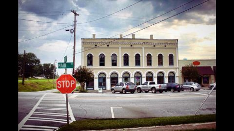 Nine buildings in downtown Grantville, including this one, can be yours for $680,000.
