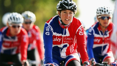 """Olympic road race champion Nicole Cooke (pictured) said: """"The poster is sexist and reflects the sexism that exists in cycling and sport. I am disappointed that the UCI did not sanction the race organizers, as the UCI has the power to take resolute action."""""""