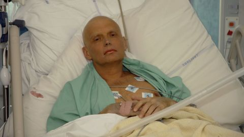 RESTRICTED LONDON - NOVEMBER 20: In this image made available on November 25, 2006, Alexander Litvinenko is pictured at the Intensive Care Unit of University College Hospital on November 20, 2006 in London, England. The 43-year-old former KGB spy who died on Thursday 23rd November, accused Russian President Vladimir Putin in the involvement of his death. Mr Litvinenko died following the presence of the radioactive polonium-210 in his body. Russia's foreign intelligence service has denied any involvement in the case. (Photo by Natasja Weitsz/Getty Images)