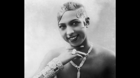 """Entertainer <a href=""""http://www.cmgww.com/stars/baker/about/biography.html"""" target=""""_blank"""" target=""""_blank"""">Josephine Baker</a> (1906-75) recorded one of her most famous performances in Paris' Folies-Bergère music hall wearing a skirt made of bananas. The concert hall is featured in the app."""