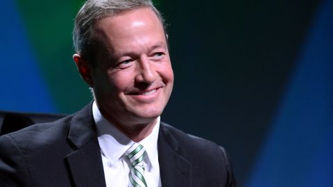 """Martin O'Malley: """"I've been very encouraged as I travel around the country by a number of people who repeat again and again and again their desire for getting things done again as a country and also for new leadership to get those things done."""""""