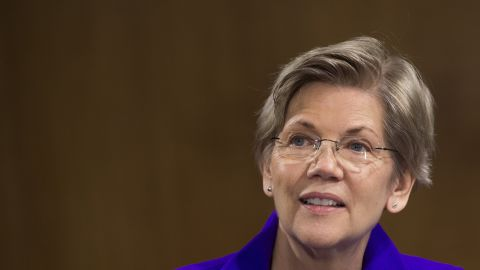 """Elizabeth Warren: """"I'm not running for president....I don't get who writes these headlines or what they're about. I think there's just kind of a pundit world out there."""""""