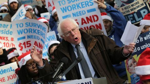 """Bernie Sanders: """"I haven't made up my final decision and I've got to say a lot of my strongest supporters say, 'Bernie, you've gotta stay out of the damn Democratic Party, run as an Independent."""""""