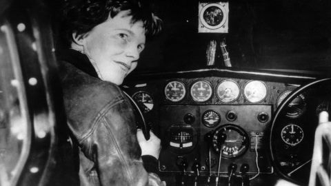 Amelia Earhart was the first woman to fly across the Atlantic solo.