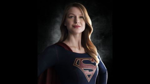 """'Supergirl"""" is flying to CBS' Monday night lineup starting in November. Melissa Benoist portrays the comic book superhero."""