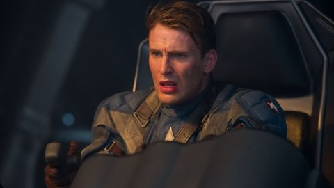 """Chris Evans, who first donned red, white and blue for 2011's """"Captain America: The First Avenger,"""" continued his fight against evil in 2012's """"The Avengers"""" and 2014's """"Captain America: The Winter Soldier."""" He reprised his role in """"Avengers: Age of Ultron,"""" """"Captain America: Civil War"""" and """"Avengers: Infinity War."""""""
