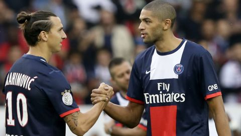 Most athletes, regardless of their discipline, played football as young children, including basketball players Nicolas Batum and Kévin Séraphin. Batum is pictured shaking hands with Paris Saint-Germain star Zlatan Ibrahimovic.