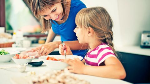 A new survey from LG Electronics reveals more than 40 percent of parents feel the most important reason they cook with their kids is to teach an important life skill.