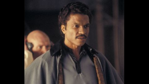 """Billy Dee Williams was the first -- and for a while, the only -- African-American actor to hold a prominent role in the series, appearing in """"The Empire Strikes Back"""" and then """"Return of the Jedi."""""""