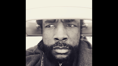 """Questlove, the drummer for The Roots, <a href=""""https://instagram.com/p/0BN6OFwa43/?modal=true"""" target=""""_blank"""" target=""""_blank"""">takes a selfie</a> while in a hair dryer on Monday, March 9. The caption: """"... when ConEd tells your hair jawn they about to cut to whole block's electric supply off in 10 or 15...."""""""