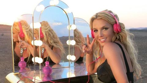 """Britney Spears went with the jaunty """"Kiss"""" by Prince."""