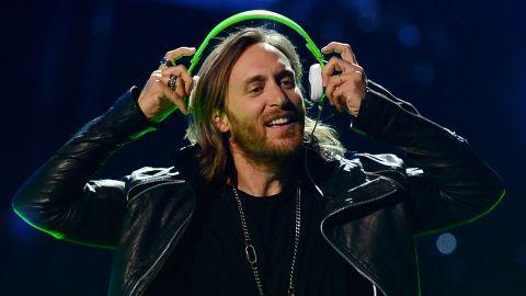 """DJ David Guetta selected the John Lennon classic """"Imagine."""""""