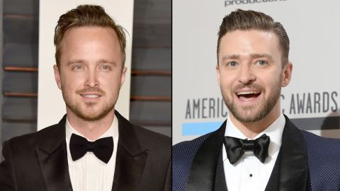 """Justin Timberlake, right, and Aaron Paul are two very busy guys, but sometimes pizza with friends is a bigger priority. When Timberlake asked on Twitter whether he was the only one who """"legitimately"""" misses Jesse Pinkman, Paul's """"Breaking Bad"""" character, <a href=""""https://twitter.com/aaronpaul_8/with_replies"""" target=""""_blank"""" target=""""_blank"""">Paul replied</a>: """"I miss you too, man. We should hang out and eat some pizza."""" If Timberlake's response is any indication, the two bosom buddies will soon be tracking down <a href=""""https://twitter.com/jtimberlake/status/474530054798450691"""" target=""""_blank"""" target=""""_blank"""">a Chick-fil-A pie. </a>"""