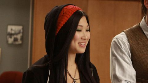 Jenna Ushkowitz's Tina was with the glee club from the start.