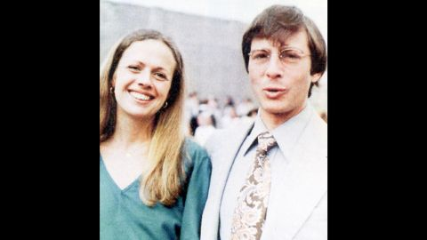 """An undated photo of Kathie and Robert Durst. Her family has said Robert Durst is to blame for her disappearance and hailed his arrest as a sign they could be close to getting answers. """"The dominoes of justice are now starting to fall,"""" Jim McCormack, her brother, said. """"Through our faith, hope and prayers the last domino will bring closure and justice for Kathie."""""""