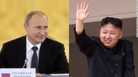"""North Korea and Russia declared 2015, which is the 70th anniversary of the end of World War II, as """"Friendship Year."""" The two countries have intensified their relationship, with goals to increase trading to $1 billion a year."""