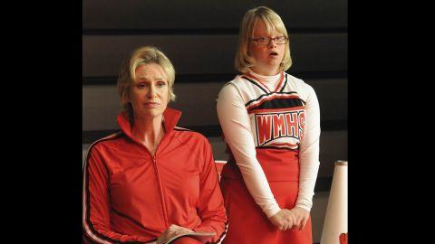Sue always had her loyal sidekick, Becky (Lauren Potter).