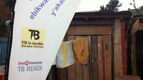 As part of the SPARK TB program there are monthly health camps in each of the city's administrative divisions, often located within public spaces such as markets.