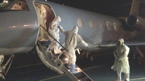 Phoenix Air, a Georgia-based company, is the go-to for transporting Ebola victims by air.