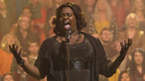 """The cross-dressing Unique was played by """"The Glee Project's"""" Alex Newell."""